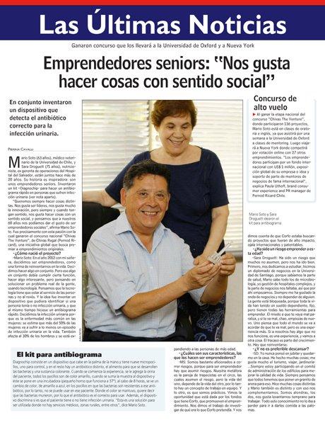 """Emprendedores Seniors: """"Nos gusta hacer cosas con sentido social"""""""